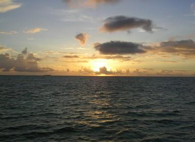 Vista quarto Meeru sunset @viagensa4