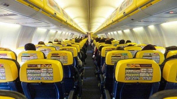 Assentos Ryanair @viagensa4