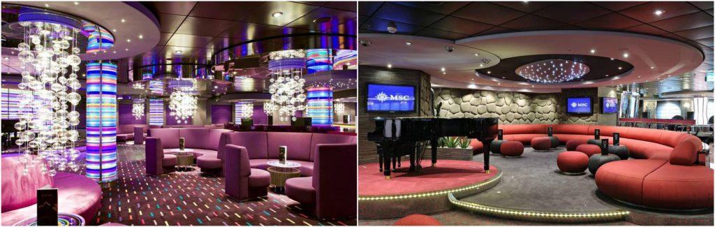 Áreas Lounge | MSC Splendida | @viagensa4