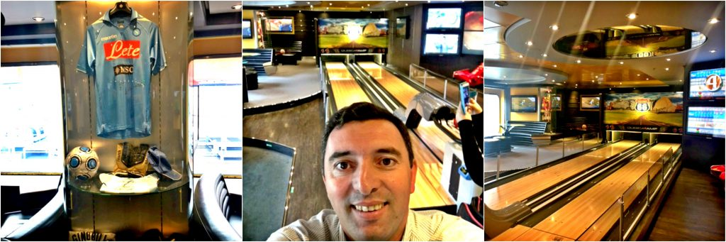 Sports Bar | MSC Splendida | @viagensa4