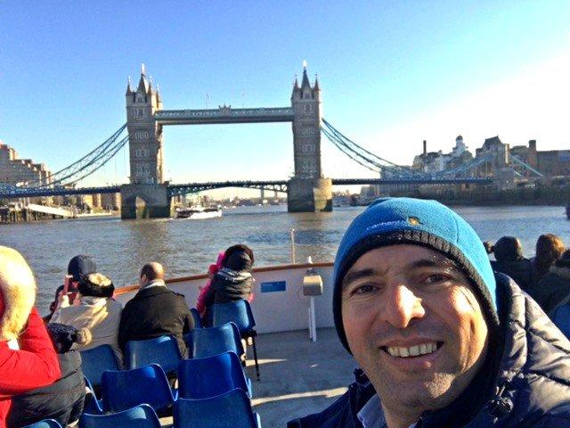 River cruise London Eye 6 @viagensa4