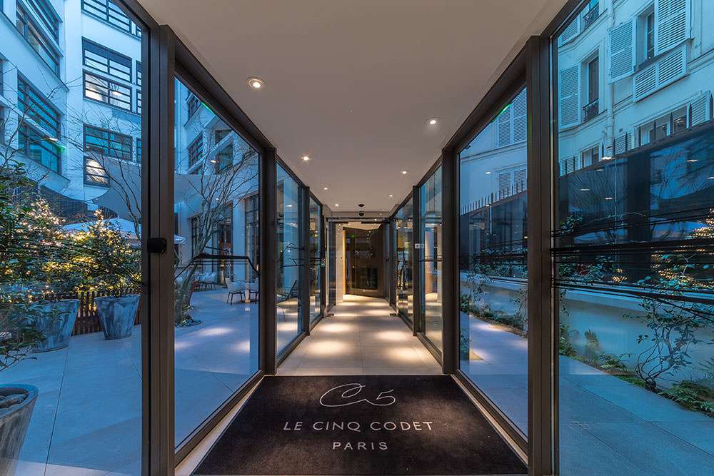 Le Cinq Codet, boutique Hotel Paris