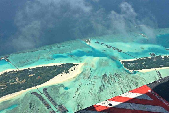 A caminho do paraíso…no voo mais bonito do mundo!