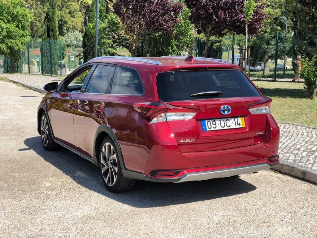 A qualidade e fiabilidade Toyota Auris Hibrido