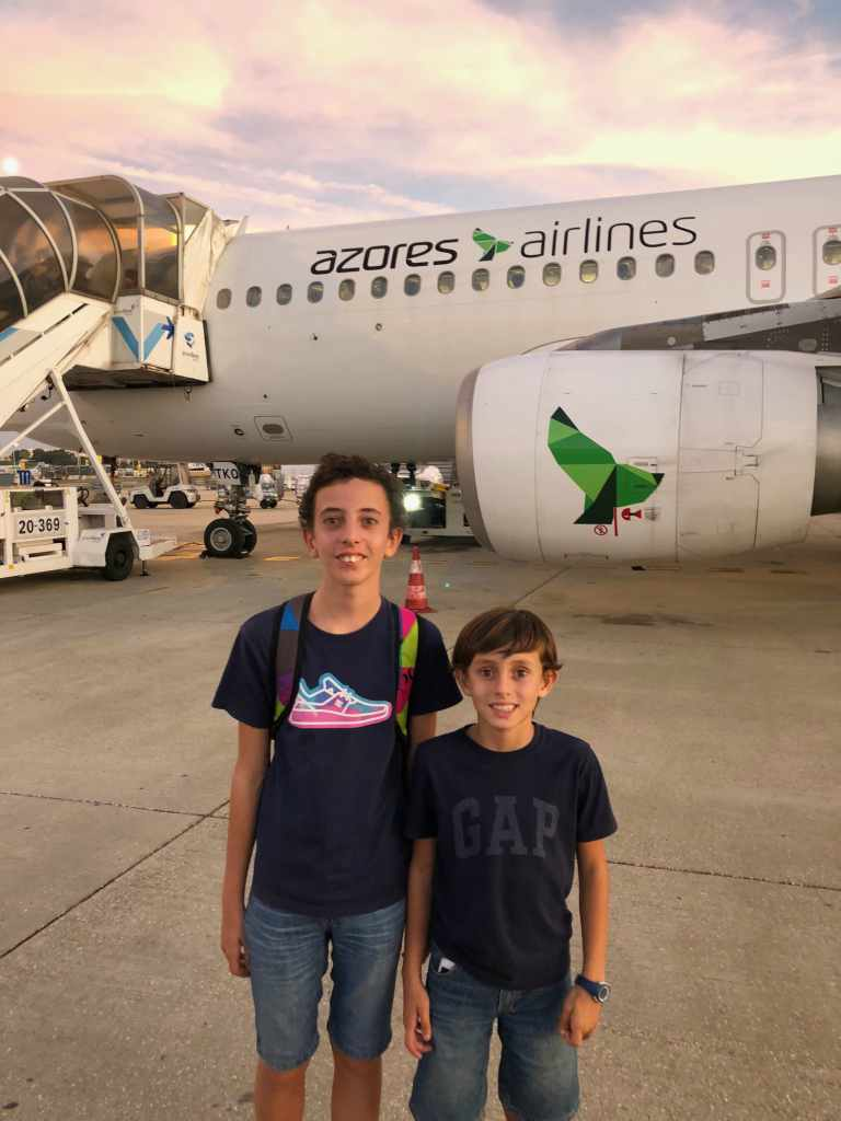 Rumo aos Açores com a AZORES AIRLINES