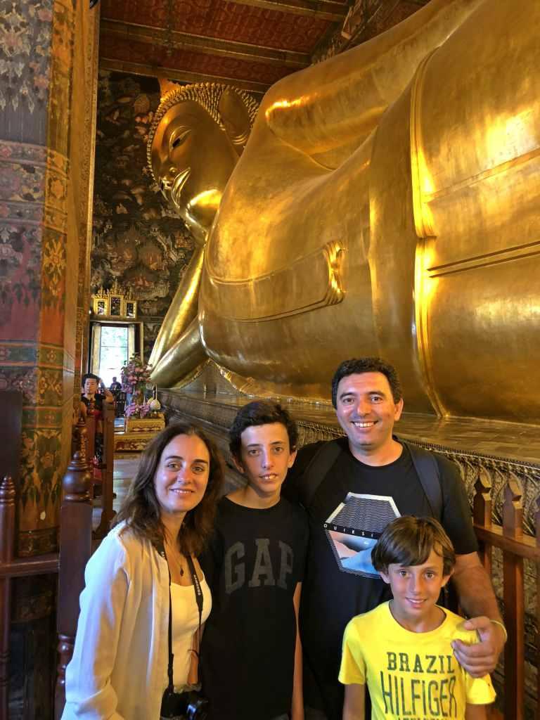 3 Templos em Banguecoque , lindos!
