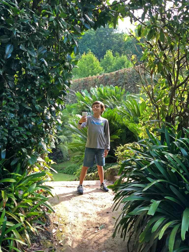 O parque terra nostra em todo o seu esplendor :)