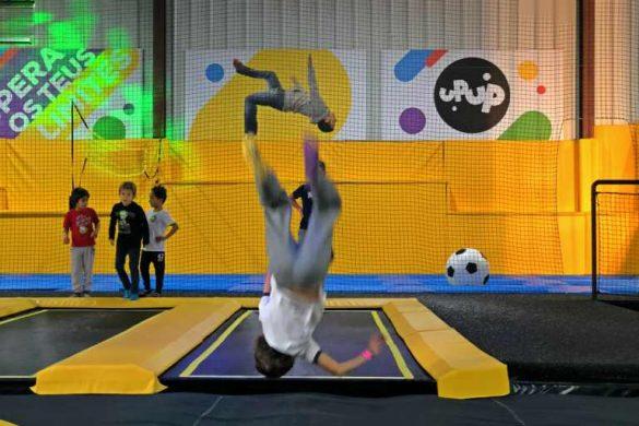 Festa de aniversário do Vasco | UPUP o nosso parque de trampolins!