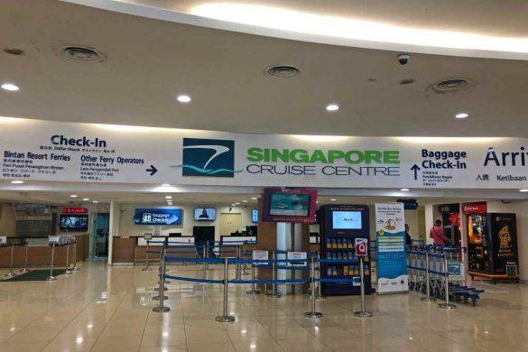 De Singapura à Indonésia em 60 minutos!