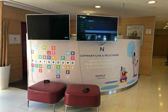 Novotel Lisboa | Hotel familiar, onde as crianças são consideradas como tal até aos…15 anos!