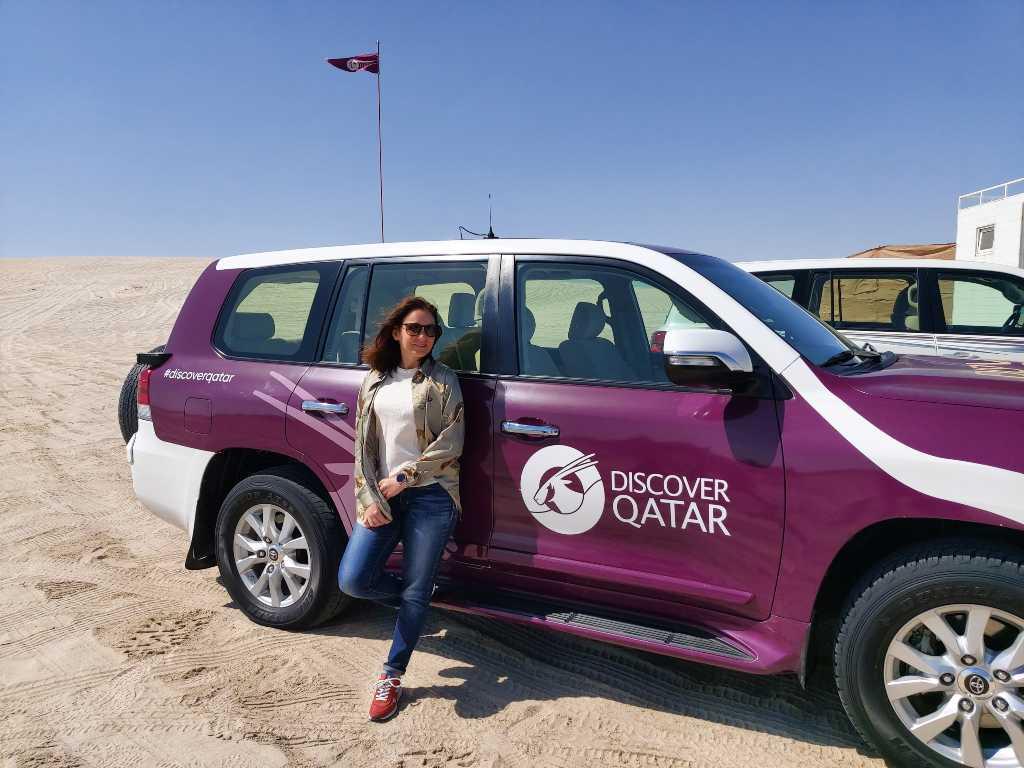 Safari no deserto do Qatar, imbatível!